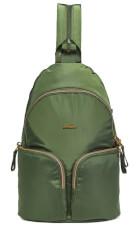 Plecak damski antykradzieżowy Stylesafe sling zielony