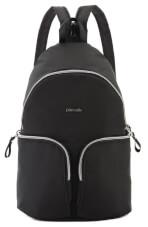 Plecak damski antykradzieżowy Stylesafe sling czarny