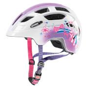 Kask rowerowy dla dzieci Finale Junior Pink Girl Uvex