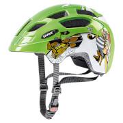 Kask rowerowy dla dzieci Finale Junior Green Pirate Uvex