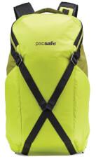 Plecak turystyczny antykradzieżowy Pacsafe Venturesafe X24 Python Green
