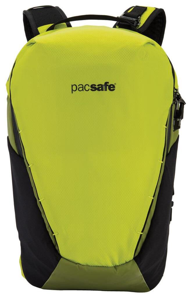 cb2137dd34dd3 Plecak turystyczny antykradzieżowy Pacsafe Venturesafe X18 Python Green