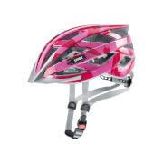 Kask do jazdy na rowerze lub rolkach I-vo c Dark Pink Shiny Uvex
