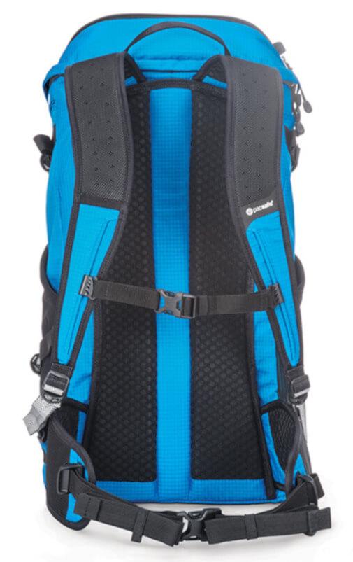 ce2cffd227b9f Plecak turystyczny antykradzieżowy Pacsafe Venturesafe X30 Hawaiian blue