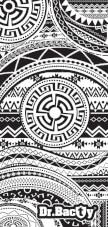Antybakteryjny ręcznik szybkoschnący XL aztec Dr Bacty
