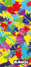 Antybakteryjny ręcznik szybkoschnący XL paint Dr Bacty