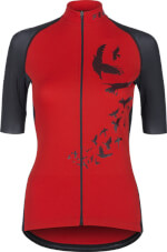 Koszulka rowerowa damska VEZUVIO Fem Red