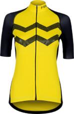 Koszulka rowerowa damska VEZUVIO Fem Yellow