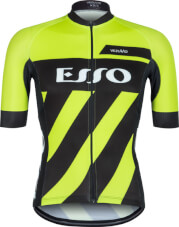 Koszulka rowerowa męska Schoeller VEZUVIO Esso Fluo