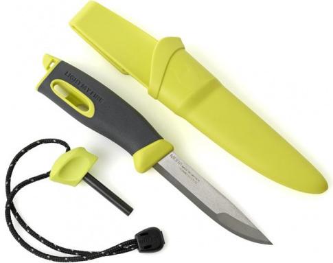 Nóż turystyczny FireKnife Light My Fire Lime