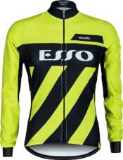 Bluza rowerowa męska Vezuvio Esso Fluo