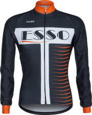 Bluza rowerowa męska Vezuvio Esso Orange