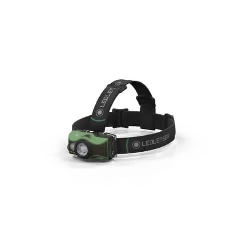Latarka czołowa MH8 Green Ledlenser zielony