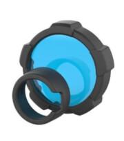 Filtr niebieski do latarki turystycznej MT18 Ledlenser 85.5 mm