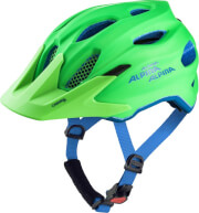 Kask rowerowy Carapax Junior Alpina Green Blue new 2019