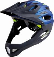Kask rowerowy King Carapax Alpina Darkblue Neon