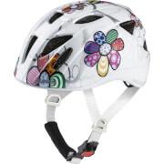 Kask rowerowy dla dzieci Ximo Flash Alpina White Flower