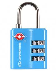 Kłódka do bagażu SA Combi Lock niebieska Lifeventure