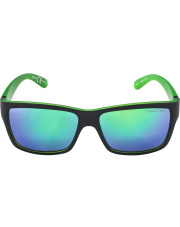 Okulary sportowe Kacey Black Matt-Green Alpina szkło green mirror Cat. 3