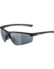 Okulary sportowe Tri-Effect 2.0 Black Matt Alpina szkło black clear orange Cat. 0-3