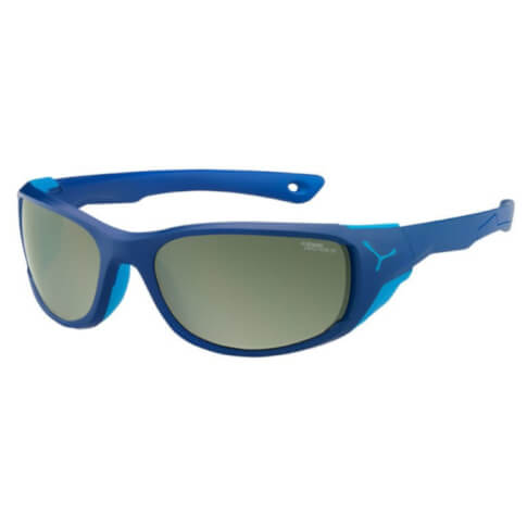 Sportowe okulary fotochromowe Jorasses Matt Dark Blue Blue Cebe M Cat. 2-4