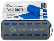 Ręcznik szybkoschnący Pocket Towel XL Sea To Summit 75 x 150 niebieski