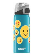 Butelka turystyczna dla dzieci z aluminium Miracle Alu Emoticon SIGG 600 ml