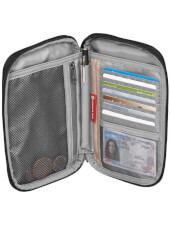 Organizer na dokumenty Eagle Creek RFID Travel Zip Organizer Black