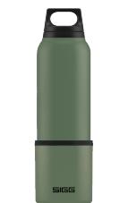 Termos turystyczny z kubkiem Thermo Flask Hot & Cold Leaf Green 0,75l SIGG