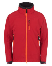Kurtka softshellowa CHILL Milo Red pepper Softshell 2