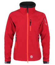 Kurtka softshellowa CHILL LADY Milo Red pepper Softshell 2