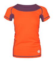 Damska koszulka TLELL LADY Milo salmon orange plum violet