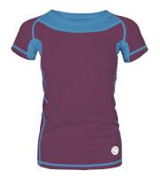 Damska koszulka TLELL LADY Milo plum violet ocean blue