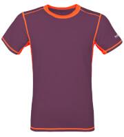 Koszulka wspinaczkowa męska Tlell Milo plum violet salmon orange