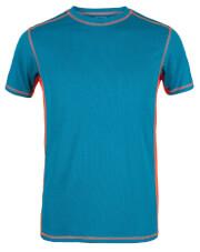 Męska koszulka TLELL Milo turquoise orange