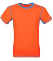 Męska koszulka TLELL Milo salmon orange ocean blue