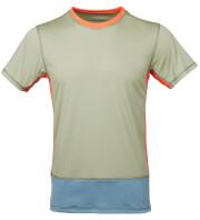 Męska koszulka VADI Milo olive green spruce blue