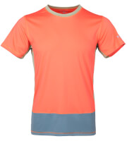 Męska koszulka VADI Milo salmon orange blue spruce