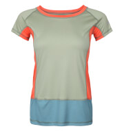 Damska koszulka VADI LADY Milo olive green spruce blue