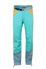 Spodnie wspinaczkowe męskie JULIAN turquoise blue sea Milo