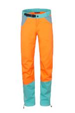 Spodnie wspinaczkowe męskie JULIAN orange turquoise Milo