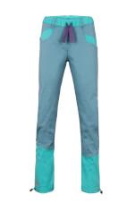 Spodnie wspinaczkowe damskie JULIAN LADY blue sea turquoise Milo