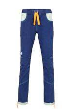 Milo spodnie wspinaczkowe damskie VELIM LADY jeans blue