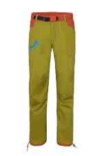 Spodnie wspinaczkowe męskie POHA Milo dark green brick