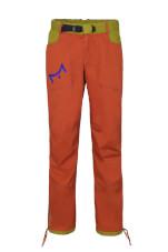 Spodnie wspinaczkowe męskie POHA Milo brick dark green