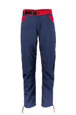 Spodnie wspinaczkowe męskie AKI Milo blue nights dark red