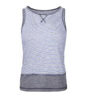 Koszulka wspinaczkowa damska FLOKA LADY Milo blue stripes