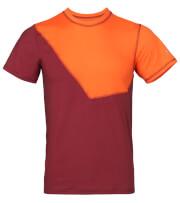 Koszulka wspinaczkowa męska NIWALI Milo burgundy orange