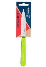 Uniwersalny nóż kuchenny Pop Serrated Green No 113 Opinel
