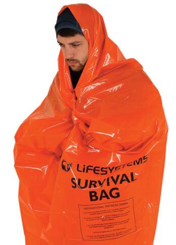 Śpiwór ratunkowy z folii NRC Survival Bag Lifesystems